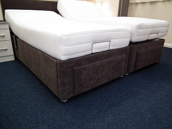 Memory Foam Adjustable Bed