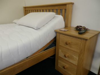 oak adjustable beds